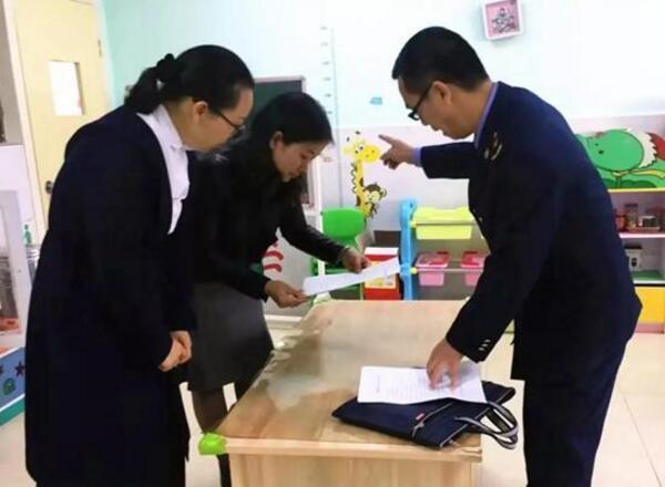 """广东始兴""""十严查""""构筑学校、幼儿园食堂食品安全"""