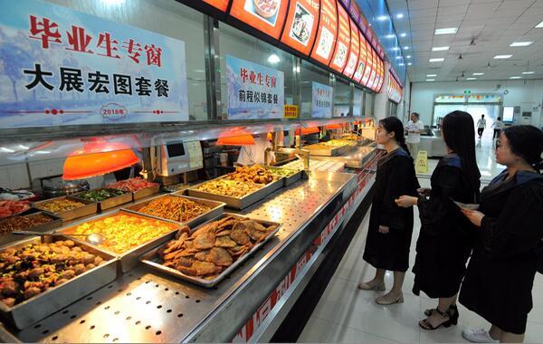 食堂自由餐消费模式