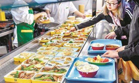 企业食堂自由选餐模式