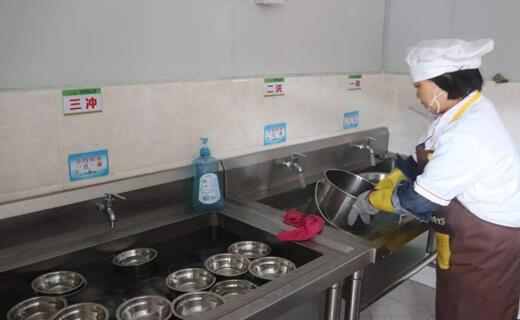 食堂餐具清洗消毒管理制度与要求