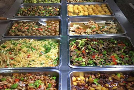 电子厂食堂菜谱