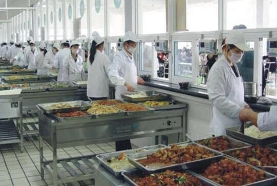 白云区工厂食堂承包案例