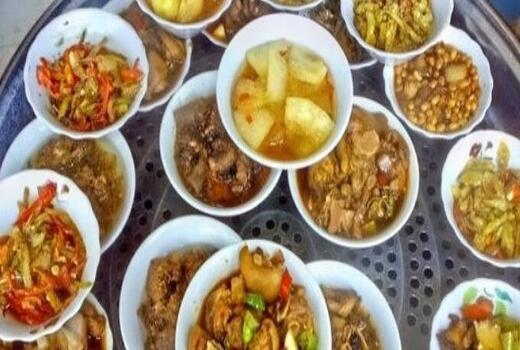 企业食堂员工餐图片