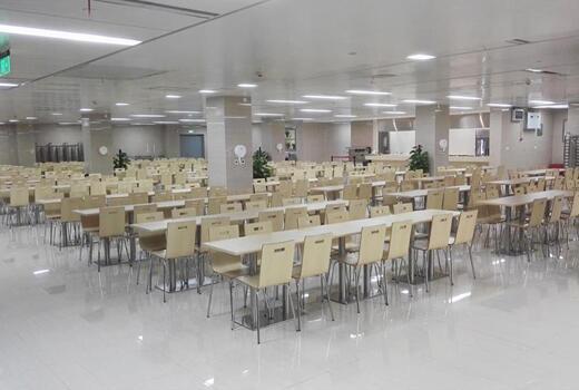写字楼食堂图片