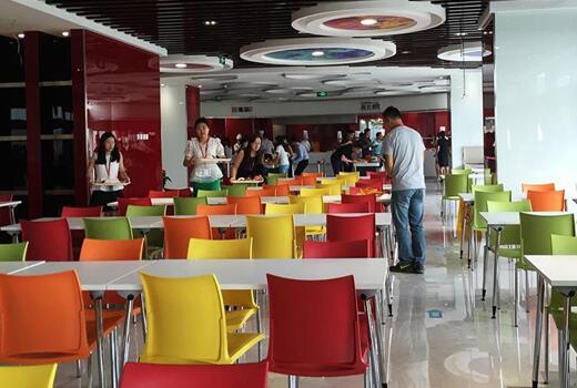 写字楼食堂就餐环境