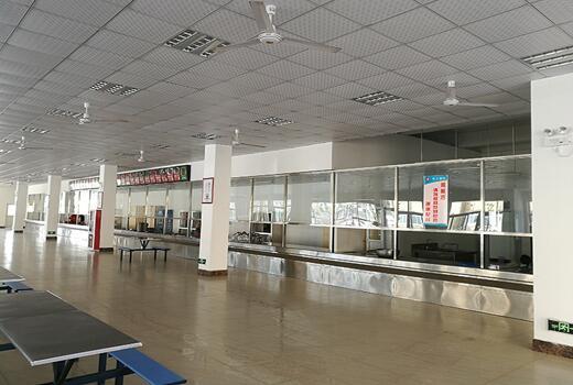 白云区工厂食堂图片