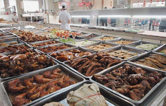 500人工厂食堂菜谱