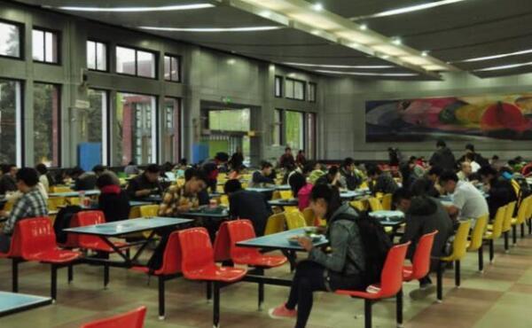 清华大学食堂