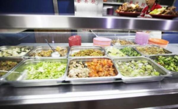 清华大学食堂菜