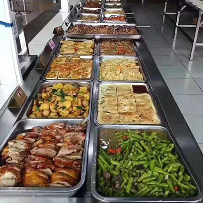企业食堂自由餐菜谱图片