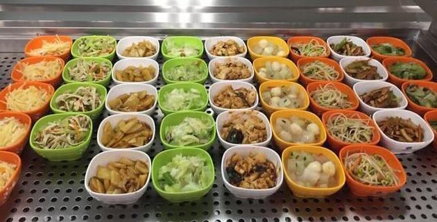 5元企业食堂菜谱