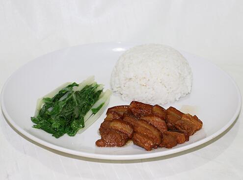 食堂卤味系列:卤肉饭套餐