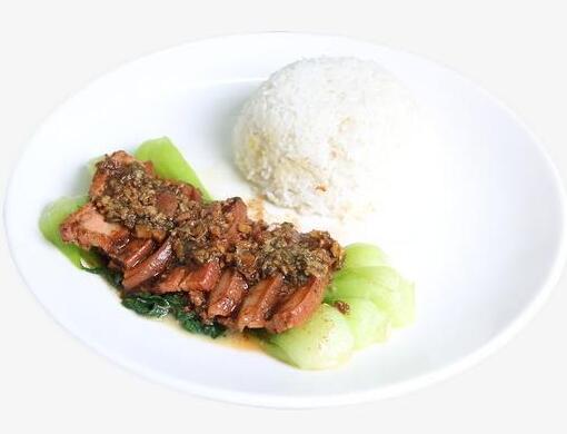 食堂卤味系列:梅菜扣肉饭